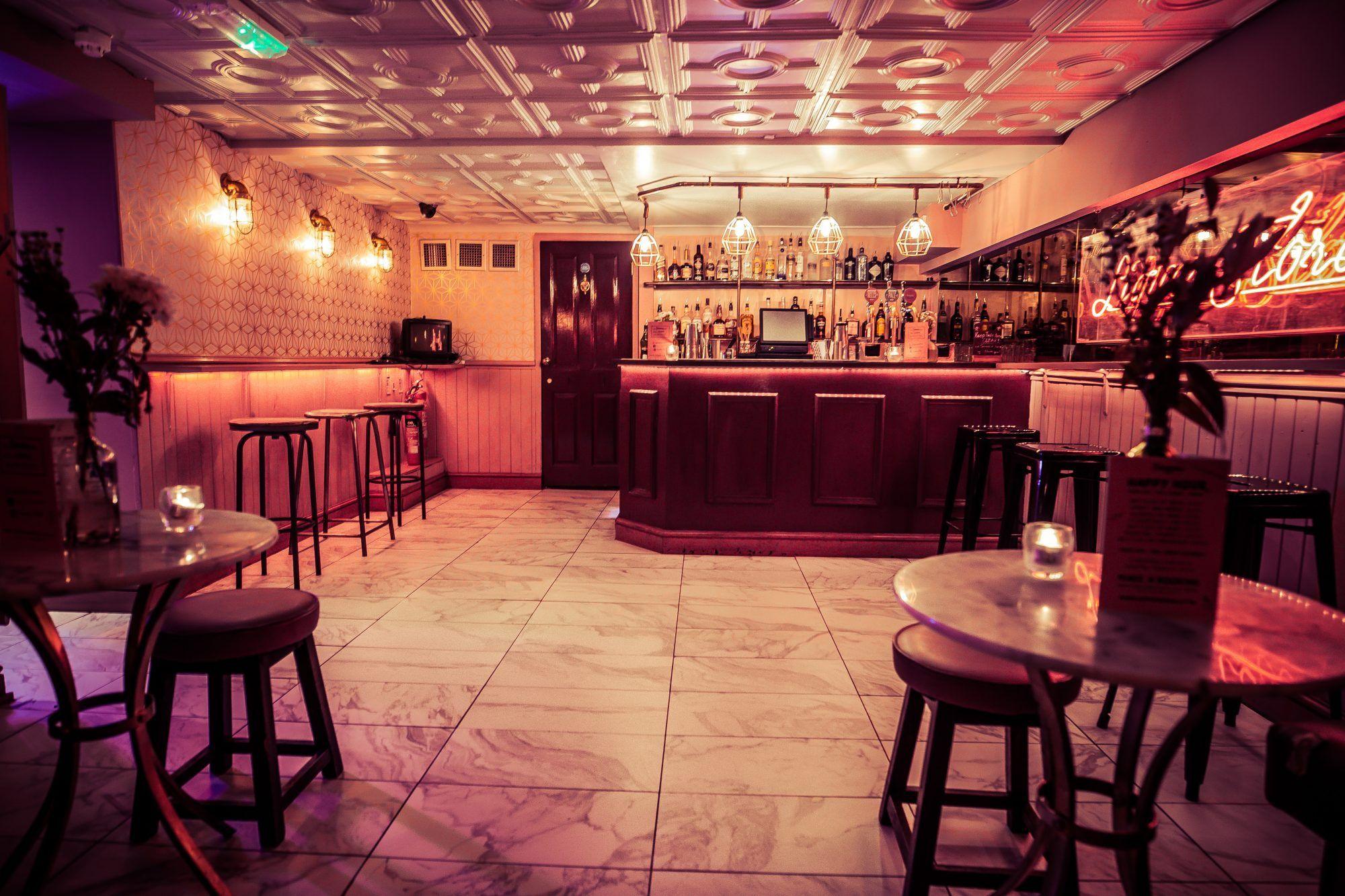 Liverpool Street Cocktail Bar Simmons Bar